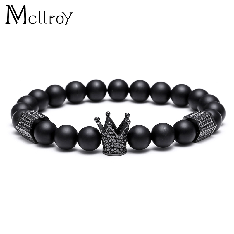 Mcllroy Bracelets Natural Stone Beads For Women Men Jewelry