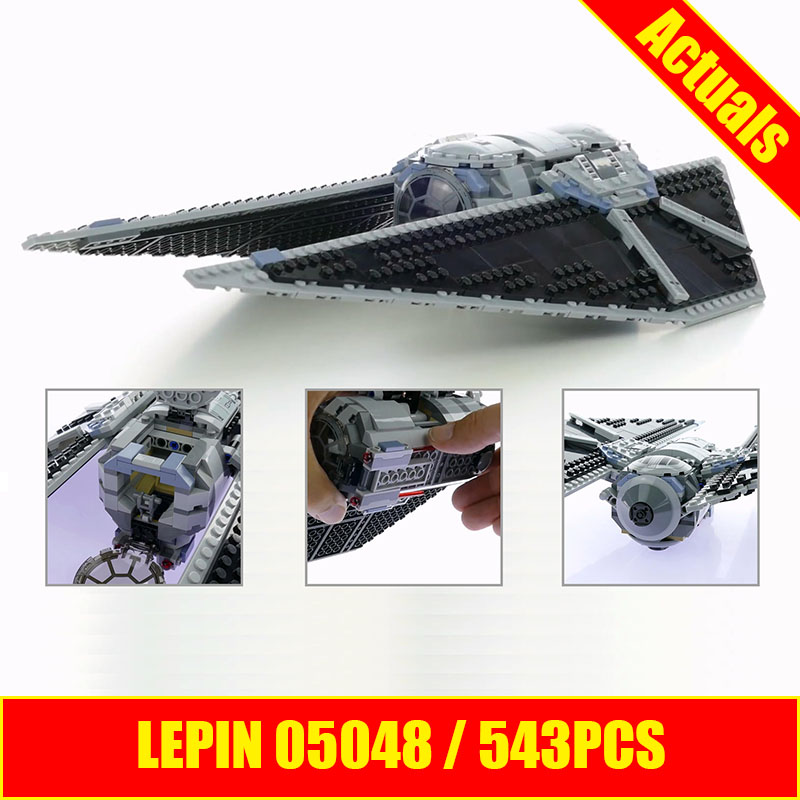 Lepin 05048 Star Series Wars The TIE Striker fighter Building Blocks Bricks Educational Children Toys Compatible with 75154 DIY