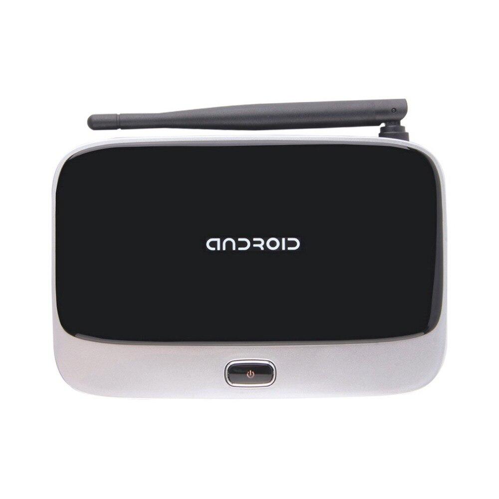CS918 Android 4,4 Smart TV Caja 2 GB + 16 GB Quad Core Bluetooth Quad Core 3G 4 K WIFI decodificadores HD 1080 p con control remoto