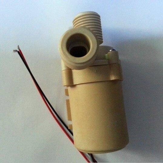 1pc NEW Solar DC 24V Hot Water Circulation Pump Brushless Motor Water Pump 5M