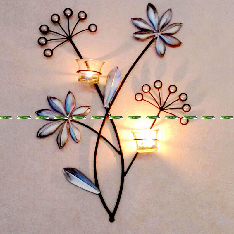 Wall Candle Decor popular wall candle holders glass-buy cheap wall candle holders