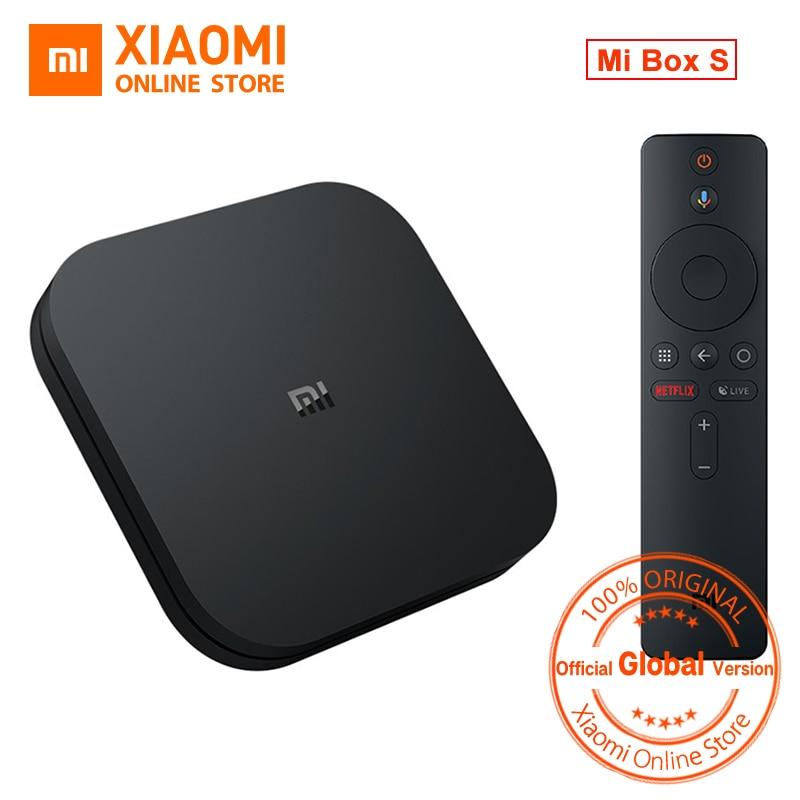 Global Version Xiaomi Mi TV BOX S Smart 4K Ultra HD 2G 8G Android 8 1