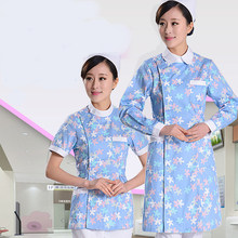 Work Wear Uniforms Clothes Beautician Overalls Beauty Salon Work Clothes Nurse Uniform Pharmacy Work Clothes(China)
