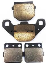 Набор тормозных колодок для KAWASAKI KX 100 KX100 89-96 KX 80 KX80 88-96/ TM Minicross 80 96-00, передняя и задняя внедорожника