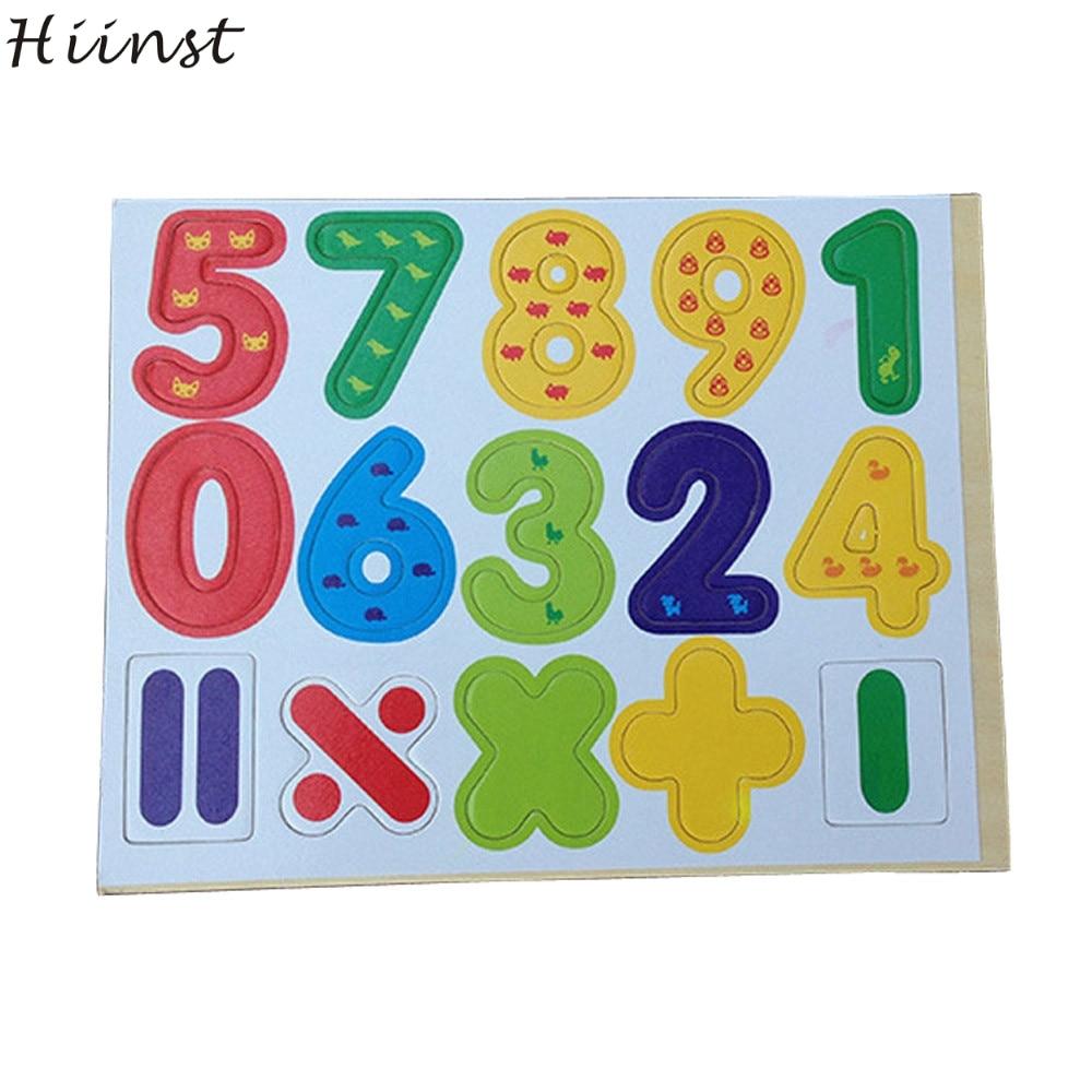 Hiinst Best продавец шт деревянные магнитные цифры, математические ребенок учится развивающие игрушки оптом S7