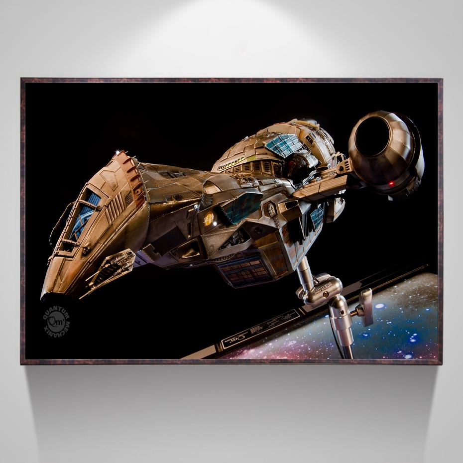 Serenity Firefly TV Art Silk Poster Home Decor 12x18 24x36inch