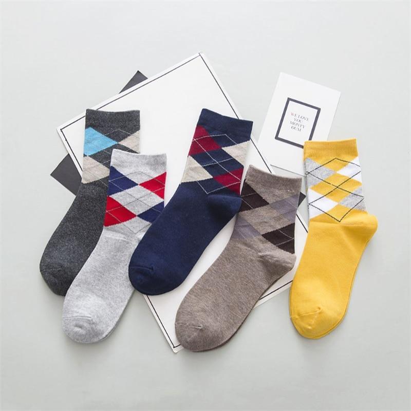 Men's Socks Cotton Retro Casual Socks Summer Fall Premium Breathable Men's Socks Meias gifts for men