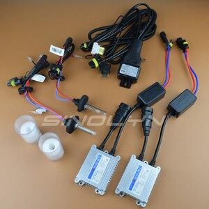Image 5 - Sinolyn soczewki reflektorów projektor HID Bi soczewki ksenonowe 2.5 LHD/RHD pełny zestaw do modernizacji akcesoria do samochodu stylowy H7 H4 4300K 6000K 8000K