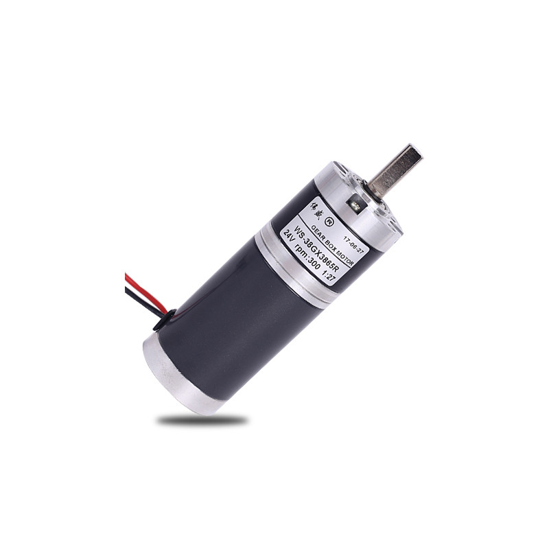 38mm 12V 24V DC Planetary Deceleration Gear Motor 15W large torque 3.5N.m micro speed reduction motor 1n.m=10kg.cm n20 dc gear motor large torque motor wearable rubber wheel