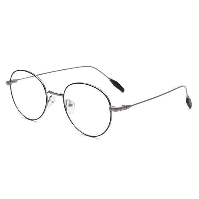 ba8fd1f972 Vintage Style Women Men Popular Round Metal Clear Lens Glasses Frame Trendy  Unisex Anti-radiation Spectacles Eyeglass FrameX2038