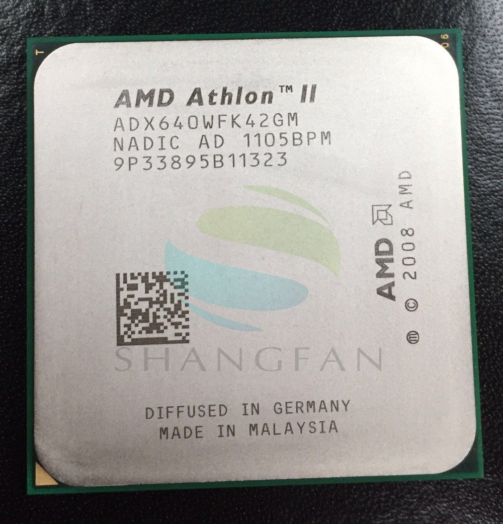Free shipping for AMD Athlon X4 640 3GHz Quad-Core CPU Processor   ADX640WFK42GM 95W Socket AM3 938pin