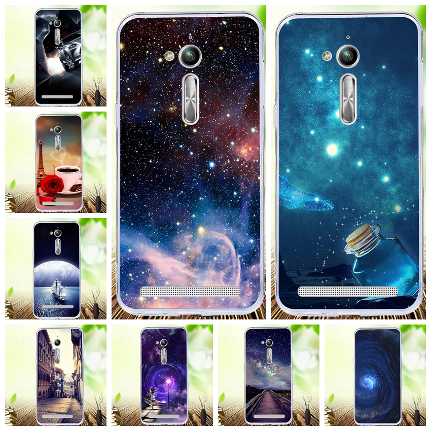 Lamocase Lovely Print Phone Cover For Asus Zenfone GO ZB500KL ZB500KG ZB 500 KL KG 500KL 500KG ZB500 KL Animals Back Cover Cases image