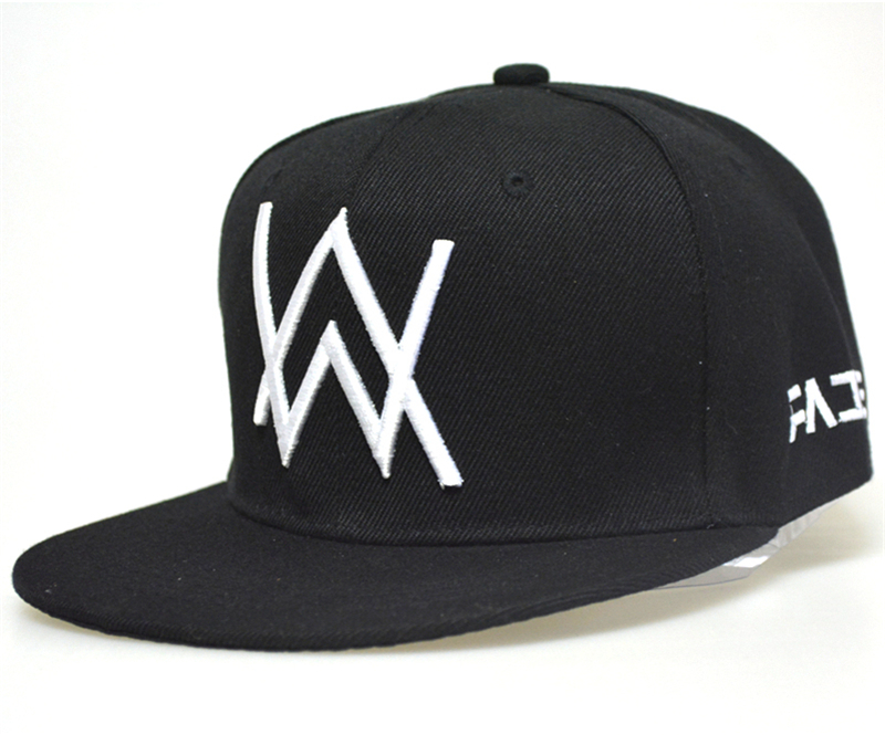 Alan Walker   baseball     cap   embroidered Rapper Bboy Dancer DJ MC hip hop snapback sun hat