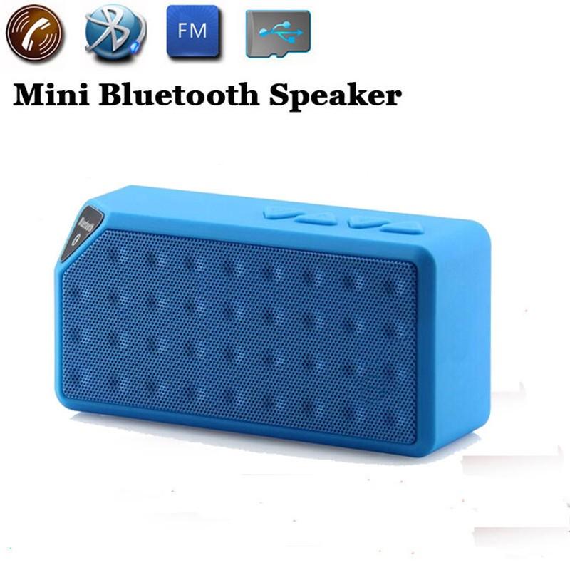 Bluetooth Speakers Wireless Bluetooth Speaker Mini Portable Magic Cube Bluetooth Speaker Bass blue normal 2