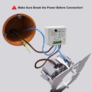 Image 2 - Tuya Vida Inteligente WiFi Tomada Interruptor módulo de Relé Disjuntor controle remoto google Casa Echo Alexa tomada de luz de automação residencial inteligente