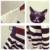 2016 Conjuntos de Roupas Da Família Mãe E Filha Combinando Set-Algodão de Manga Curta Camisetas Moda Striped Vestidos Filha da Mãe