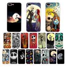 The Nightmare Before Christmas Soft cover for iphone case x 7 8 6s 6 plus 5s xr xs max 5 se shell cute cartoon design TPU Coque