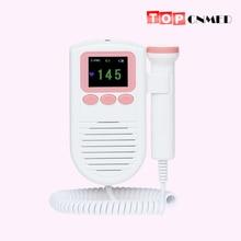 Фетальный допплер детский фетальный монитор сердечного ритма для беременных женщин 2,0 МГц зонд с FHR шкалой с громкоговорителем
