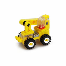 31pcs/Set Building Blocks Engineering Vehicle Crane Car Toys Model Intelligence Toys Compatibility(China)