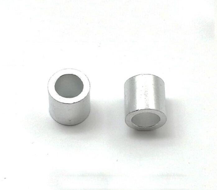 200 Stks/partij M2/m3/m4/m5/m6 Aluminium Kolom Ronde Spacer