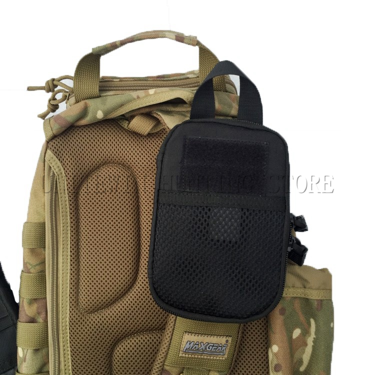 Sports Tactical Vest Backpack Accessories EDC Utility Waist Pouch Hunting Outdoor Wasit Bag