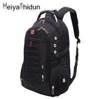 New Fashion Man Backpack Brand Design Men Travel Bag Polyester Bag Men Laptop Packsack Swiss Gear