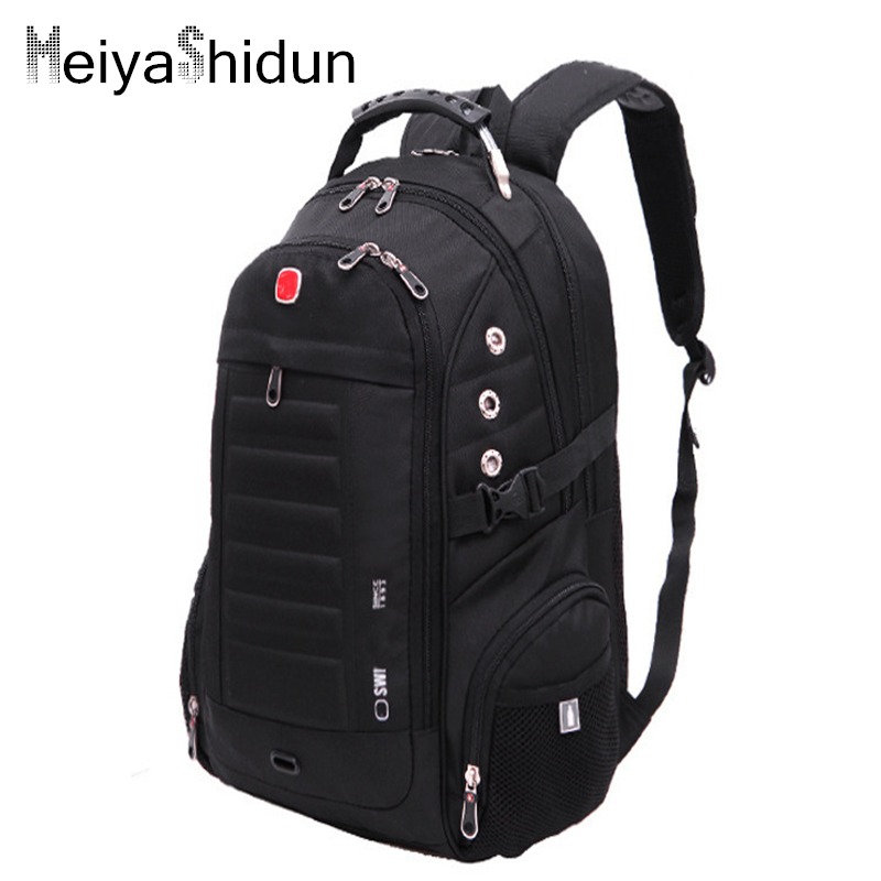 Meiyashidun men backpacks brand travel travel school bag teengers laptop military for Travel gear brand