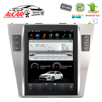 Android 6.0 Tesla Style for Toyota Camry car navigation car multimedia system Bluetooth GPS Radio WIFI 4G Vertical screen Stereo