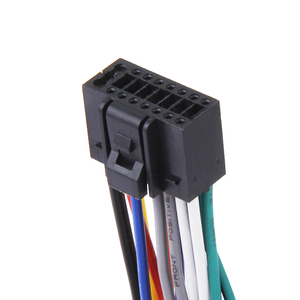 Image 4 - Автомобильный радиоприемник 16 см, стерео провод, штекер, кабель с 16 контактным разъемом для Kenwood, отвечает EIA цветным кодам, автомобильные аксессуары