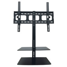 Durable Wall Mount TV Bracket 32- 65 inch Screen Size Shelves Adjustable Television Stand Portable LCD LED TV Holder
