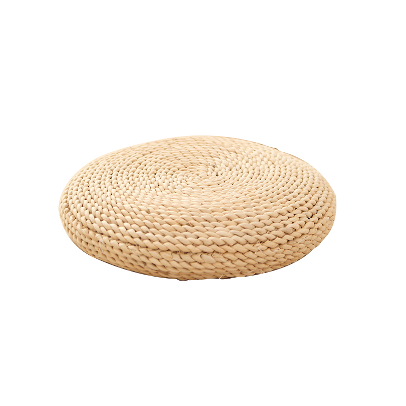Handmade Woven Straw Futon Yoga Meditation Chairs Mat