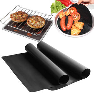 TUUTH 0.2mm Thick Ptfe Barbecue Non-Stick BBQ Grill Mats
