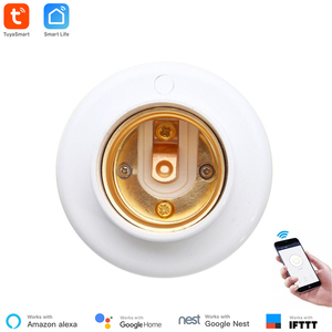Image 3 - Tuya Smart Slampher WiFi Remote Wifi LED Light Bulb Holder Real Timer for Smart Home Compatible with Alexa echo Google home