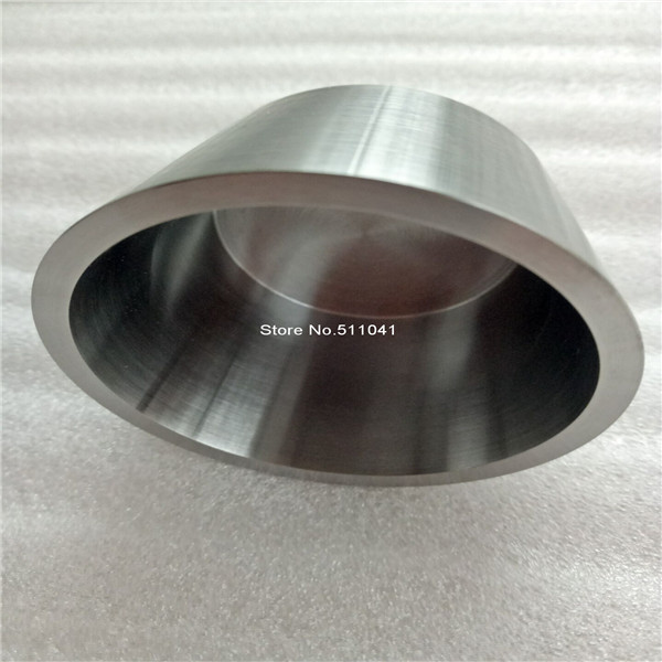 HOT SALE  high purity Tungsten crucible, tungsten crucible upper diameter 60 mm, buttom diameter 39 mm, height 60 mm,wall 3mm new high quality tungsten crucible 99 96% purity 5 25mm thickness 15mm height 2pcs wholesale paypal is available