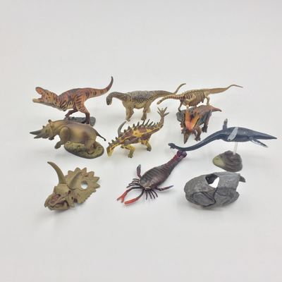 figure simulation  toy Children gift  Dinosaur model 10pcs/set pvc figure doll model toy solid jurassic world dinosaur toy simulation model children animal toy boy gift tyrannosaur 5 pcs set