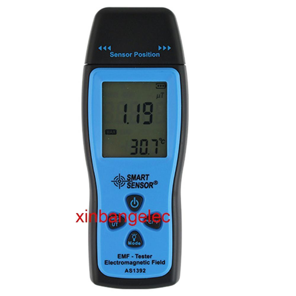 Electro-Magnetic Field Tester EMF meter Electromagnetic fiekd 20/200 Micro Tesla tes 1390 electrosmog meter emf meter