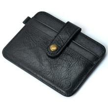 wo weino OL Style Mens Wallets Luxury Famous Fashion Men Purse Slim Credit Card Holder Mini Wallet ID Case Purse Bag Pouch