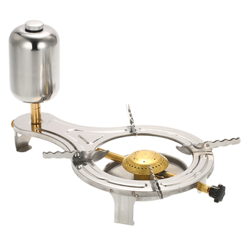 / Portable Outdoor Alcohol Stove Stainless Steel Camping Hiking Wood Stove Firewoods Furnace Mini Picnic Cooking Stove New