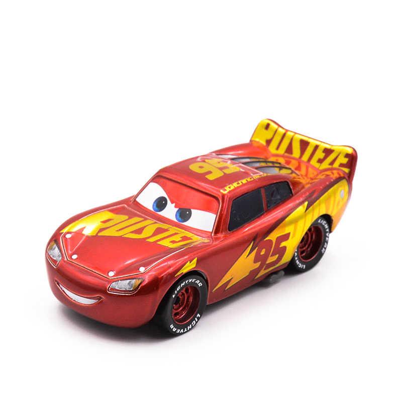 1:55 disney Pixar тачки 3 новые роли мисс фриттер Молния Маккуин Джексон шторм Круз Рамирез матер металлический автомобиль игрушки подарок на день рождения