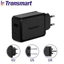 Тип C Зарядное Устройство, Tronsmart W2PE 27 Вт Dual USB Зарядное Устройство Быстрой Зарядки для Nexus 6 P/5x, Google Pixel/Пиксел XL