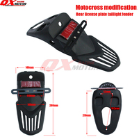Rear Fender Stop Tail Plate For Chinese Kayo Bse 250/450cc Off Road Motorcycle Motocross Free Shipping