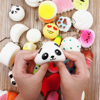 30Pcs Cute Mini Kawaii Kawaii Squishy Jumbo Panda Bun Slow Rising Squishy Cute Soft Mini Bread