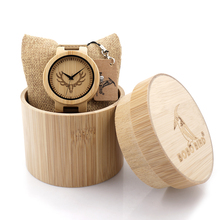 BOBO BIRD Men Wood Watch Engrave Bulk Head Watch Top Luxury Quartz watch for Men and