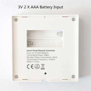 2 X AAA Battery Mi Light B1 B2 B3 Panel Controller Wireless 2.4G RF Panel Control for Dim/CCT/RGB/RGBW/RGB+CCT LED Bulb / Strip