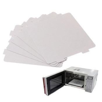 5Pcs Mica Plates Sheets Microwave Oven Repairing Part 108x99mm Kitchen For Midea mexi 2 pcs 13 x 13cm microwave oven mica sheets repairing accessory plates sheets