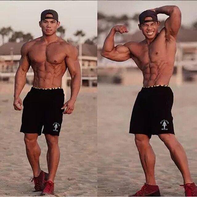 Men Golds Brand Fitness Shorts Mens Professional Bodybuilding Short Pants cotton  Gasp Big Size brand clothing