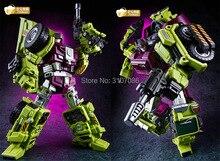 Jinbao Devastator Transformasi G1 GT Oversize 6IN1 Bonecrusher Scrapper Gravity Mixmaster Kait Ko Aksi Tokoh Robot Mainan