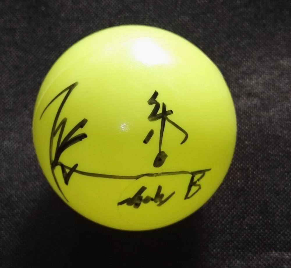 Signée à la main NCT RÊVE Chenle autographiée concert balle K-POP 122018
