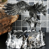 High Quality Chinese Hawk Shape Alloy Ashtray Home Office Desk Decoration