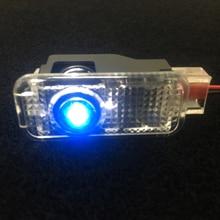 2pcs Car Projector Light LED Warning Light Car Door Light For Quattro Logo A1 A3 A6 C6 A8 A4 A5 B6 B8 C5 C7 B5 B7 A7 Q3 Q5 Q7 TT
